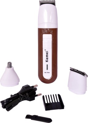 Kemei KM-704 3 In 1 Grooming Kit (With Trimmer & Clipper)