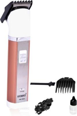 Kemei KM-30005 Cordless Trimmer for Men(White)