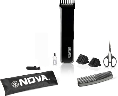 Nova NHT 1055 Pro Skin Advanced Friendly Precision Trimmer Black