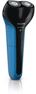 Philips AT600/15  Shaver For Men(Black and Blue)  available at flipkart for Rs.1750