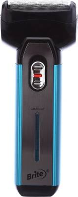 Brite JM's 2in1 Rechargeable BS-880 Shaver For Men (Blue)
