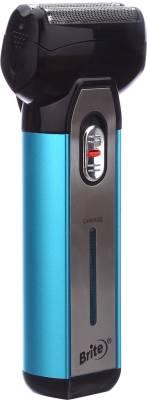 Brite JM's 2in1 Rechargeable BS-880 Shaver For Men (Blue)