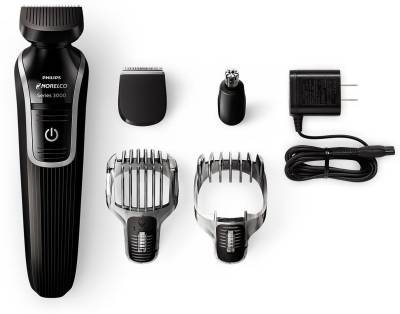 Philips QG3330 Multigroom Series 3100 5 attachments Trimmer, Ear, Nose & Eyebrow trimmer For Men