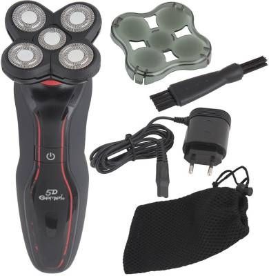 Gemei GM-6000-NW 360 5D Rechargeable Shaver For Men