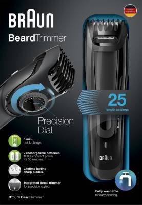 Braun BT 5070 Precision Trimmer For Men
