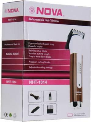 Nova NHT-1014 Trimmer For Men - Brown