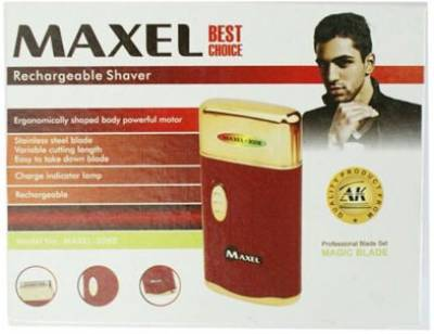 Maxel Rechargeable AK-3008 Trimmer For Men (Multi Color)