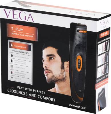 Vega T-Play VHTH-03 Trimmer For Men (Black)