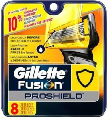 Gillette Fusion Proshield Blade Refills - 8 Cartridges