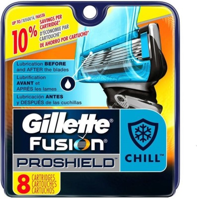 Gillette Fusion Proshield Chill Blade Refills - 8 Cartridges