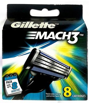 Gillette Mach 3 Shaving Razor Blades Cartridge 6s