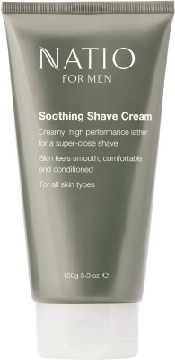 Natio For Men Soothing Shave Cream(150 g)