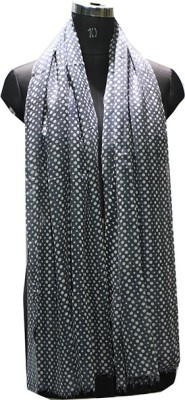 Selfi Wear Wool Polka Print Women's Shawl(Grey)
