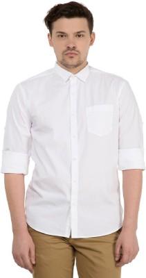 Urbano Fashion Men's Solid Casual Regular Collar Shirt