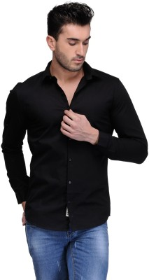 Feed Up Men's Solid Casual Shirt