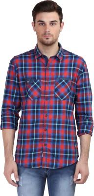 Showoff Men's Checkered Casual Shirt