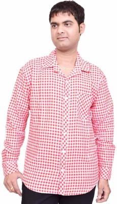 British Terminal Men's Checkered Casual Shirt