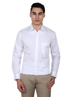 Arrow Men's Solid Casual White Shirt at flipkart