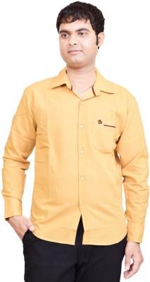 British Terminal Men's Solid Casual Shirt