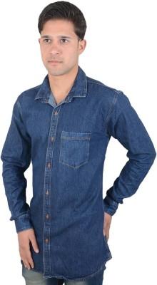 Red Rezz Men's Self Design Casual Shirt