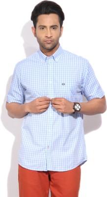 Arrow Sports Men's Checkered Casual Blue Shirt at flipkart