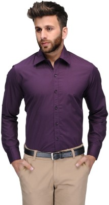 Allen Men's Solid Formal Shirt