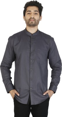 0c49af11e 10% OFF on Ciara Men's Solid Formal Chinese Collar Shirt on Flipkart    PaisaWapas.com