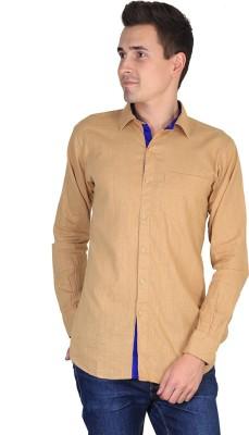 Fuego Men's Solid Casual Shirt