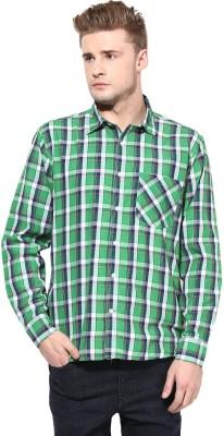 Yuvi Men's Checkered Casual Multicolor Shirt