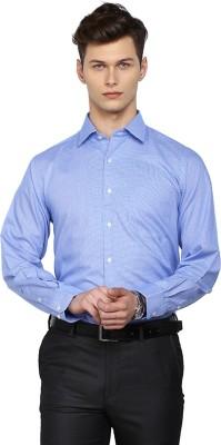 Arrow Men's Checkered Casual Blue Shirt at flipkart