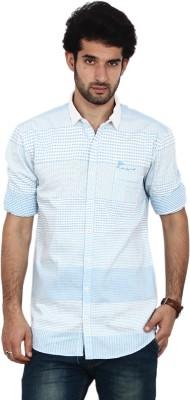 FRD13 Men's Checkered Casual Shirt