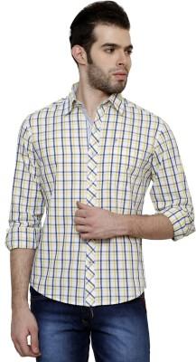 True Tittos Men's Checkered Casual Shirt
