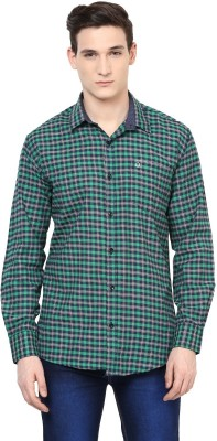 Urbano Fashion Men's Checkered Casual Multicolor Shirt