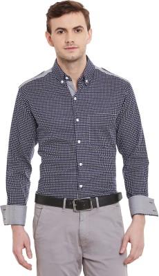 Dazzio Men's Woven Casual Button Down Shirt
