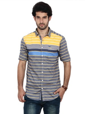 FRD13 Men's Striped Casual Shirt