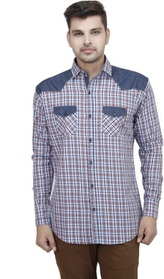 Swiss Culture Men's Checkered Casual Shirt