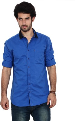 FRD13 Men's Solid Casual Shirt