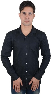 Red Rezz Men's Solid Casual Shirt