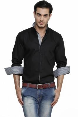 Dazzio Men's Solid Casual Shirt