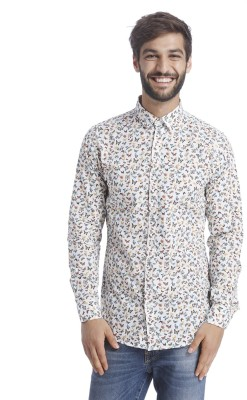 Selected Men Printed Casual Multicolor Shirt at flipkart