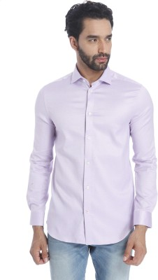 Jack & Jones Men Solid Casual Light Blue Shirt at flipkart