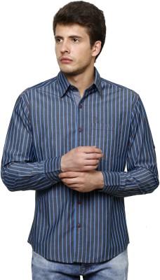 True Tittos Men's Striped Casual Shirt