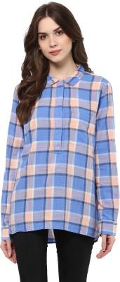 MAYRA Women Checkered Casual Multicolor Shirt MAYRA Women's Shirts