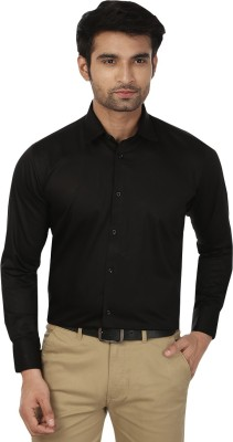 Masculine Affair Men's Solid Party Regular Shirt