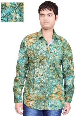 British Terminal Men's Printed Casual Shirt
