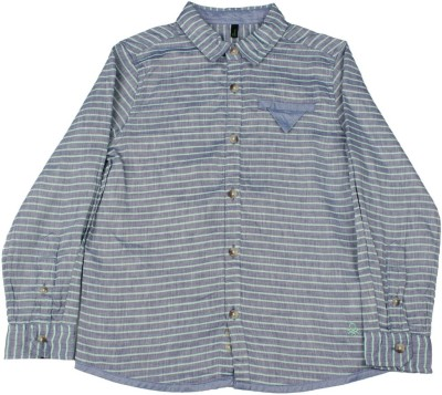 United Colors of Benetton. Boys Casual Shirt at flipkart