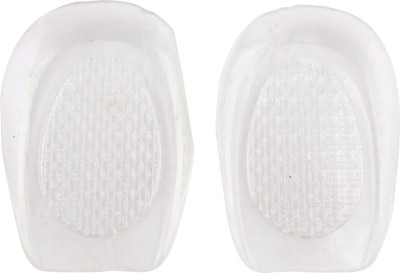 Importikah Silicone Heel Insoles Silicone, Gel Heel Liner Regular Shoe Insole(Transparent)  available at flipkart for Rs.519