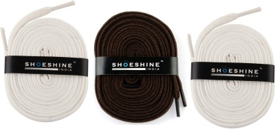 Shoeshine India sports shoes laces 120cm Z9 flat Shoe Lace(Multi Set of 3)  available at flipkart for Rs.195