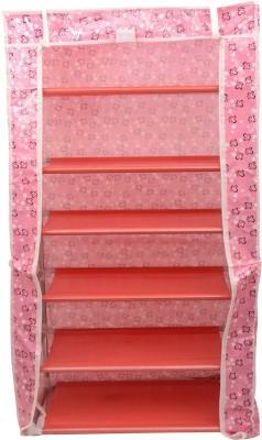 Karmax Fabric Shoe Cabinet(6 Shelves)