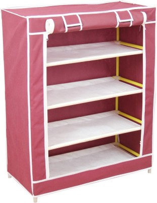 Novatic Fabric Shoe Cabinet(4 Shelves)